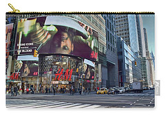 New York City - Broadway And 42nd St Carry-all Pouch