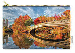New York City Central Park Bow Bridge Carry-all Pouch