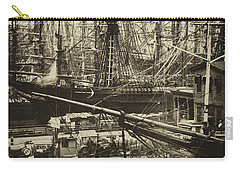 New York City Docks - 1800s Carry-all Pouch