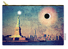 New York City Solar Eclipse 2017  Carry-all Pouch