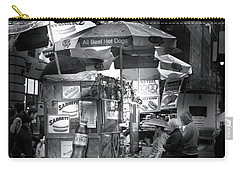 New York City Hot Dog Stand Carry-all Pouch by Mark Andrew Thomas