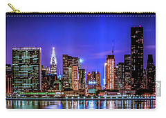 Carry-all Pouch featuring the photograph New York City Shine by Theodore Jones