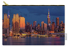 Carry-all Pouch featuring the photograph New York City Skyline Pride by Susan Candelario