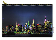 Carry-all Pouch featuring the photograph New York City Skyline by Theodore Jones