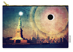 New York City Solar Eclipse 2017 II Carry-all Pouch