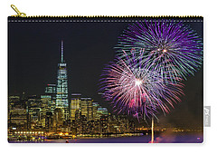New York City Summer Fireworks Carry-all Pouch