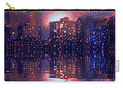 Carry-all Pouch featuring the photograph New York by Holly Martinson