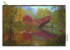 New York In Fall Carry-all Pouch