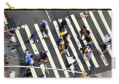 New York Minute Carry-all Pouch by David Gilbert