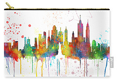New York Ny Skyline Carry-all Pouch