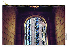 Carry-all Pouch featuring the photograph New York Perspective by Jessica Jenney