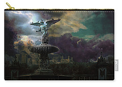 New York Series Number 3 Carry-all Pouch by Jeff Burgess
