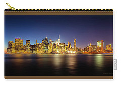 New York Skyline Carry-all Pouch by Marvin Spates