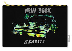 New York Streets Carry-all Pouch by Kim Gauge