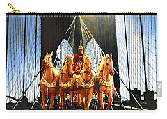 New York Time Machine - Fantasy Art Carry-all Pouch