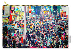 New York Times Square Carry-all Pouch