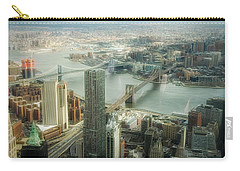 New York View Of East River Carry-all Pouch