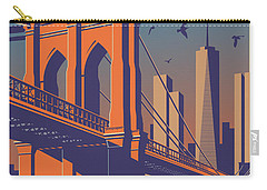 New York Vintage Travel Poster Carry-all Pouch