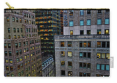 New York Windows Carry-all Pouch by Joan Reese