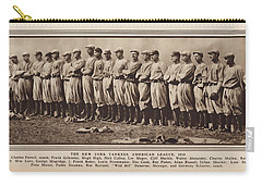 Carry-all Pouch featuring the photograph New York Yankees 1916 by Daniel Hagerman