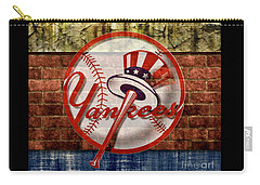 New York Yankees Top Hat Brick 2 Carry-all Pouch