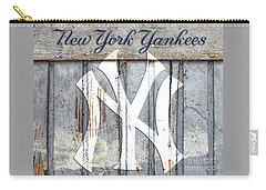 New York Yankees Rustic Carry-all Pouch