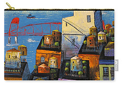 New York,red Bridge Carry-all Pouch