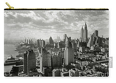New Your City Skyline Carry-all Pouch by Jon Neidert
