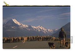 New Zealand Mt Cook Carry-all Pouch