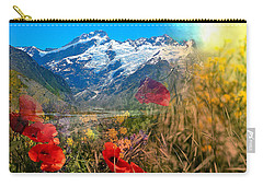 New Zealand Southern Alps Montage Carry-all Pouch