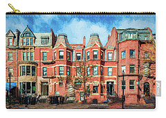 Newbury Street In Boston Carry-all Pouch