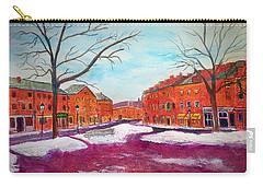 Newburyport Ma In Winter Carry-all Pouch