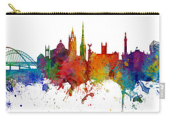 Newcastle England Skyline Custom Panoramic Carry-all Pouch
