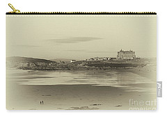 Newquay With Old Watercolor Effect  Carry-all Pouch