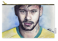 Neymar Carry-all Pouch by Alban Dizdari