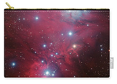 Carry-all Pouch featuring the photograph Ngc 2264 And The Christmas Tree Star Cluster by Eso