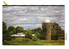 Nh Farm Scene - Weathered To Perfection Carry-all Pouch by Betty Denise