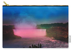 Niagara Falls At Night Carry-all Pouch