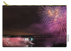Carry-all Pouch featuring the photograph Niagara Falls Fourth Of July by Brenda Jacobs