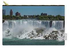 Carry-all Pouch featuring the photograph Niagara Falls, New York by Brenda Jacobs
