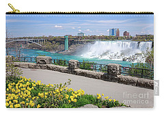 Niagara Falls Spring Time Carry-all Pouch