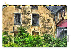 Carry-all Pouch featuring the mixed media Niccolo by Trish Tritz