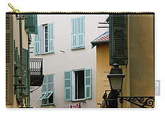 Carry-all Pouch featuring the photograph Nice Pastel by Rasma Bertz