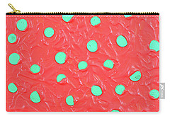 Carry-all Pouch featuring the painting Nickels And Dimes by Thomas Blood