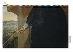 Nicolaes Van Der Borght, Merchant Of Antwerp Carry-all Pouch