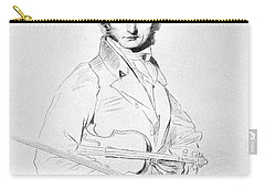 Nicolo Paganini (1782-1840) Carry-all Pouch