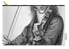 Nicolo Paganini Carry-all Pouch