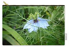 Nigella In Spring Rain Carry-all Pouch