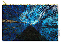 Carry-all Pouch featuring the painting Night Angel by David Lee Thompson