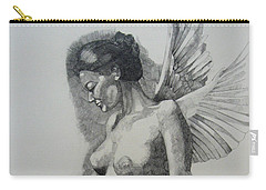 Night Angel Carry-all Pouch by Ray Agius
